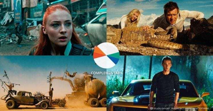 Studio Binder – Complementary Color – Color Schemes