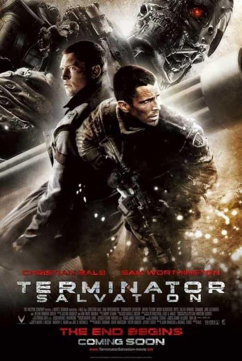 Terminator Salvation Key Art Movie Poster