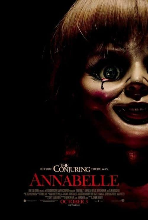The Conjuring Annabelle Key Art Movie Poster