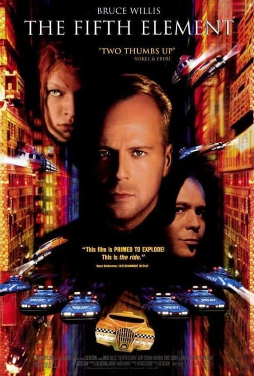 The Fifth Element Key Art Movie Poster