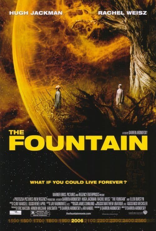The Fountain Key Art Movie Poster