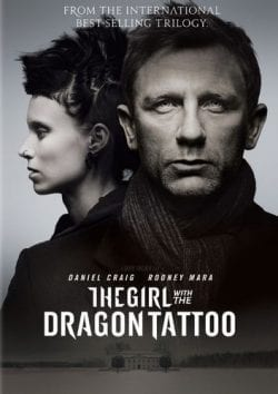 The Girl with the Dragon Tattoo Key Art Movie Poster