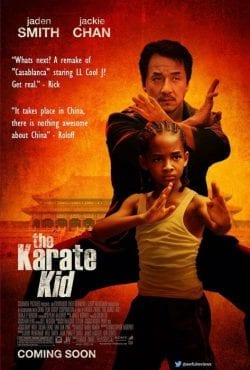 The Karate Kid Key Art Movie Poster