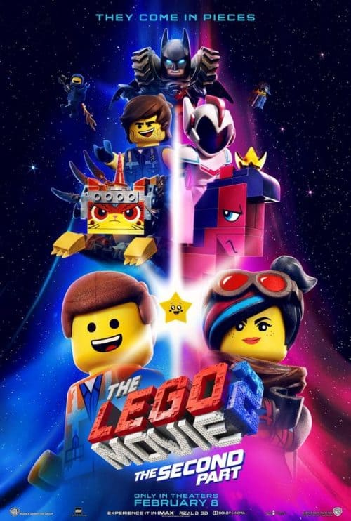 The Lego Movie The Second part Key Art Movie Poster