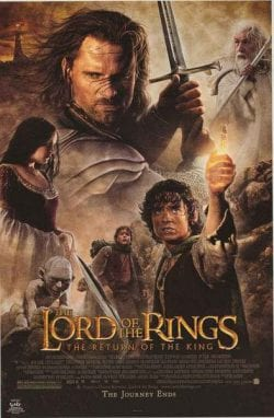 The Lord of The Rings The Return of The King Key Art Movie Poster