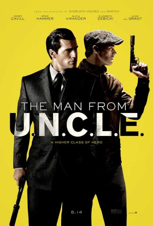 The Man From UNCLE Key Art Movie Poster