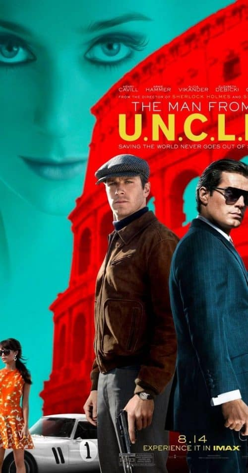 The Man from UNCLE Key Art Movie Poster 02