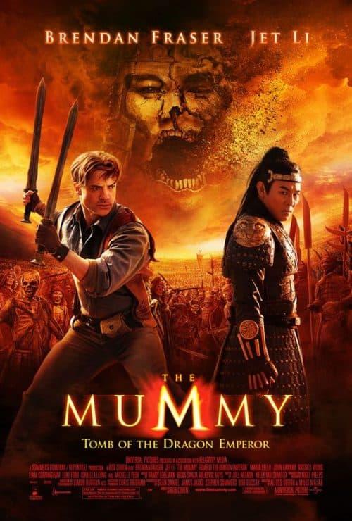 The Mummy Key Art Movie Poster