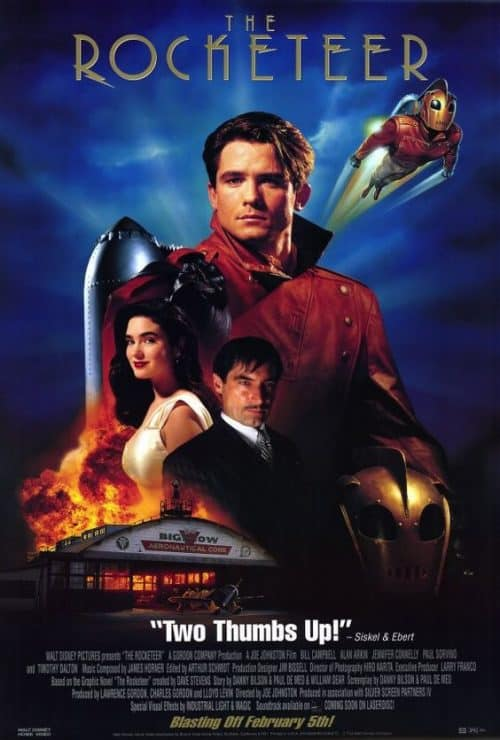 The Rocketeer Key Art Movie Poster