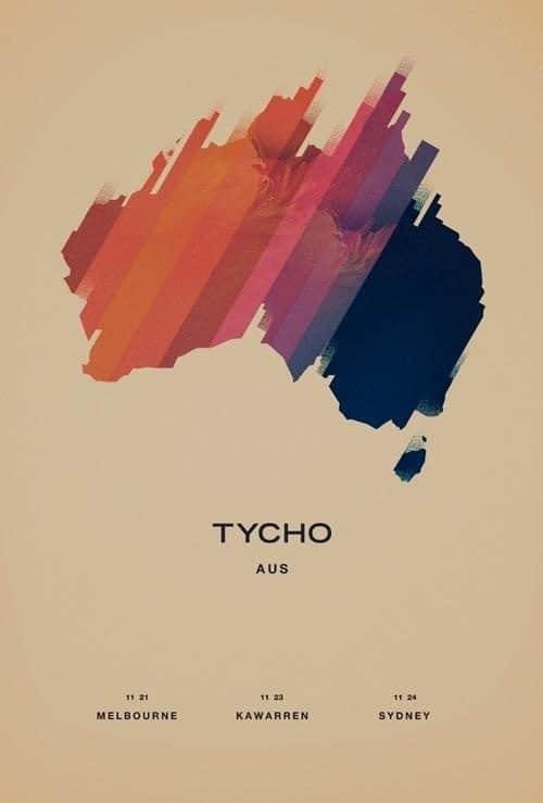 Tycho Australia poster
