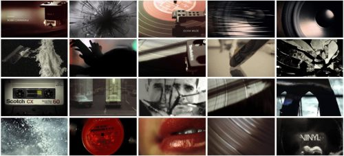 Vinyl-Title-Sequence