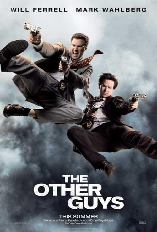 Will Ferrell Mark Wahlberg The Other Guys Key Art Movie Poster