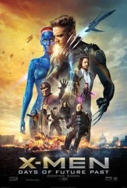 X-Men Days of Future Past Key Art Movie Poster