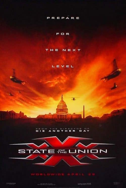 XXX State of the Union Key Art Movie Poster