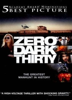 Zero Dark Thirty Key Art Movie Poster
