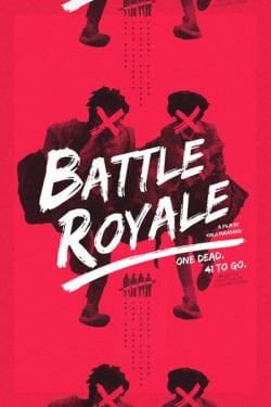Graphic Design   Battle Royale Poster