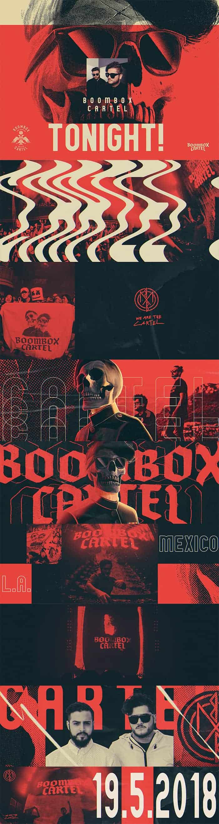 Boombox Cartel – Style Frames