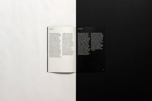 Graphic Design | Common Name – Syracuse Architecture Lecture