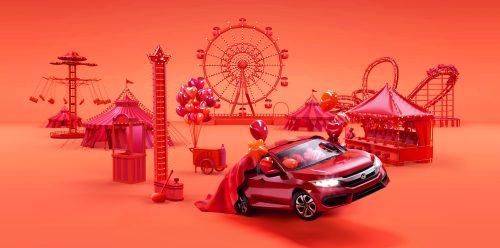Design – Serial Cut – Honda