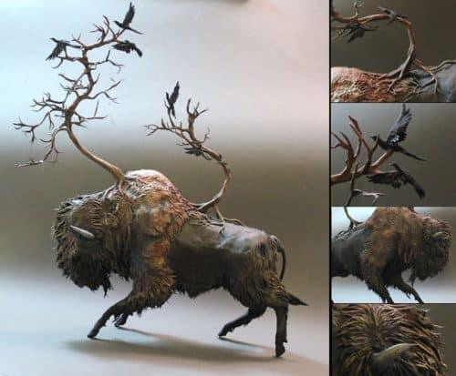 fantasy-creature-sculptures-by-ellen-jewett-2