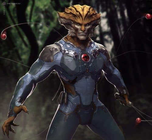 Concept Art – Furio-Tedeschi – Tygra – Thundercats