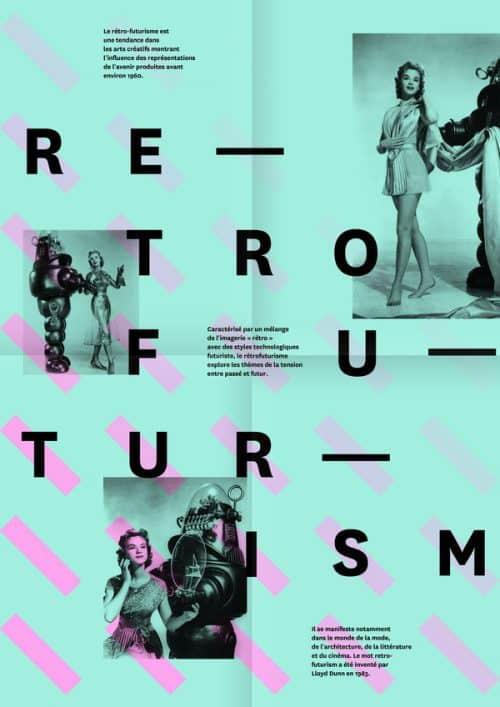 Graphic Design | Retro Futurism Poster