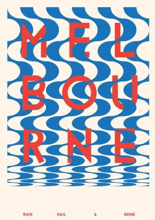 Graphic Design | Melbourn Poster