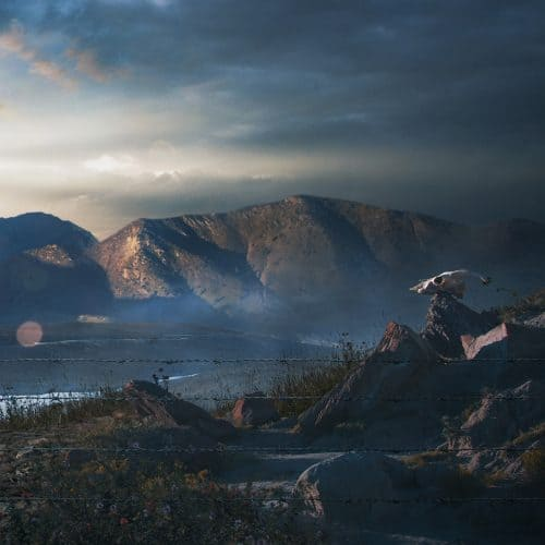 Military Base matte painting +making of on Behance