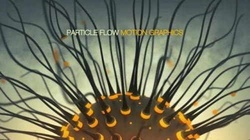 PARTICLE FLOW MOTION GRAPHICS