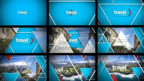 SRC Travel – Identity and Channel Branding Frames