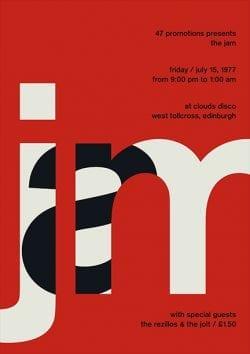 the-jam-poster-design