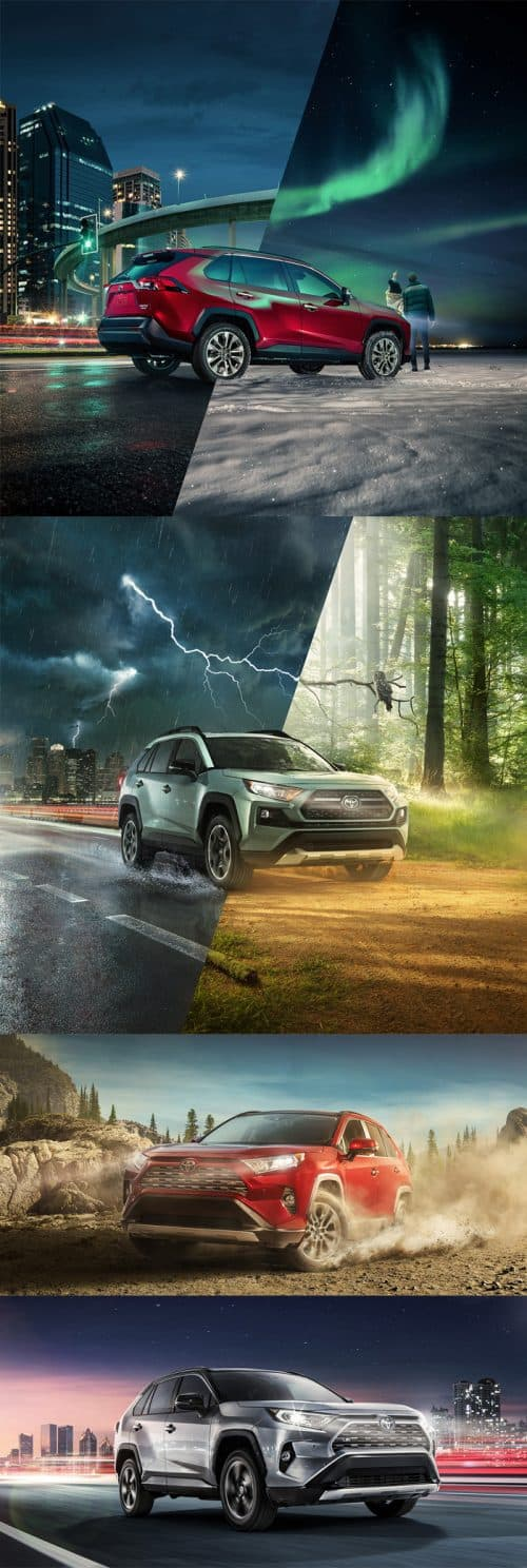 Toyota RAV 4 2019 + making of