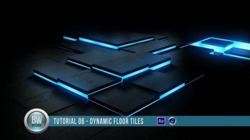 Cinema 4D Tutorial – Dynamic Floor Tiles