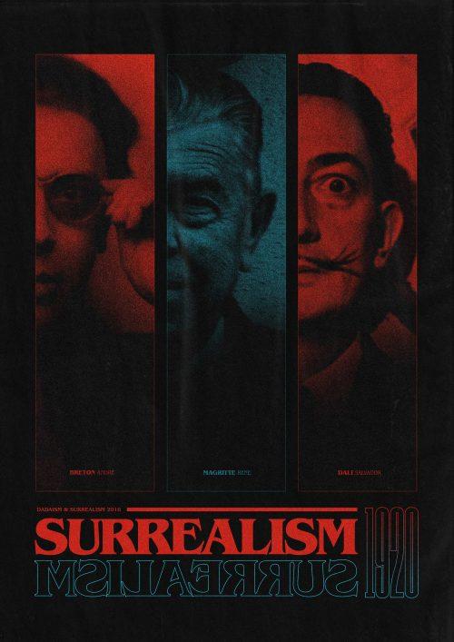 Graphic Design | Surrealism – Luke Brickett – Poster & Print.