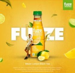 FUZE Beverage Print Ad