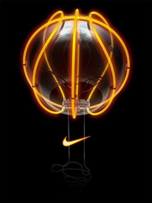 Neon | Neon Sculpture – Nike Basketball by Vasava