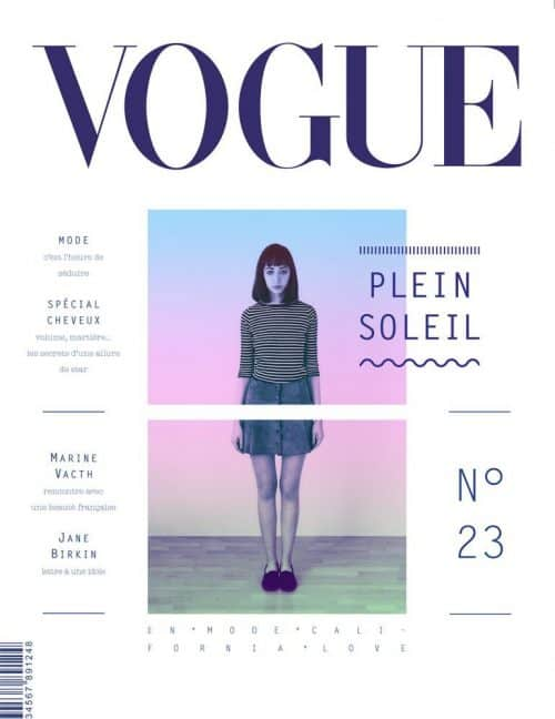Graphic Design | Magazine | Full Sun Topic for VOGUE Magazine