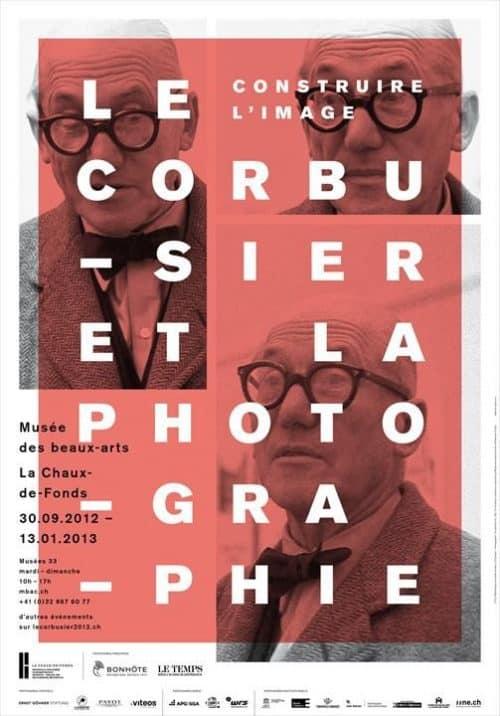 Graphic Design   Poster   Build the image. Le Corbusier