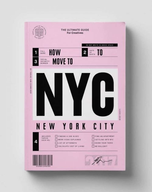 Graphic Design | Magazine | How to move to New York
