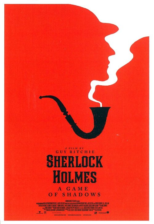 Graphic Design   Saul Bass Inspired – Sherlock Holmes Poster by Olly Moss