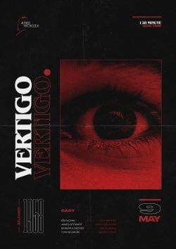 Graphic Design | Luke Brickett – Vertigo – Poster & Print