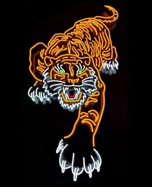 Neon | Neon Light Tiger