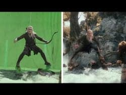 VFX | Amazing Before & After Hollywood VFX: Trilogy of the Hobbit