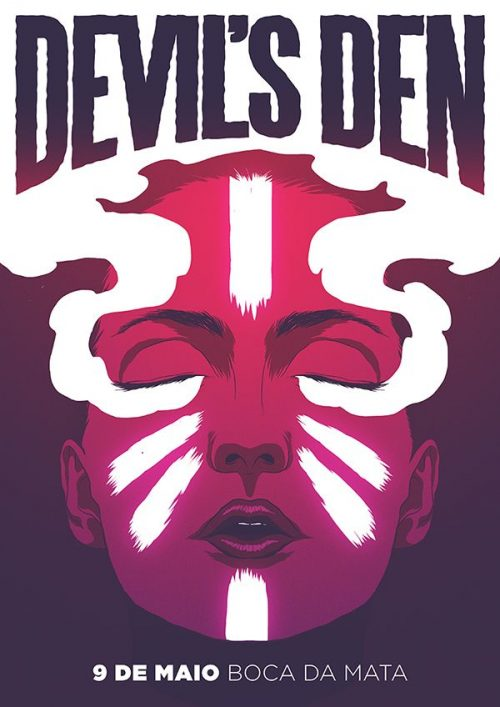Graphic Design | Poster | Devil's Den Poster Artwork