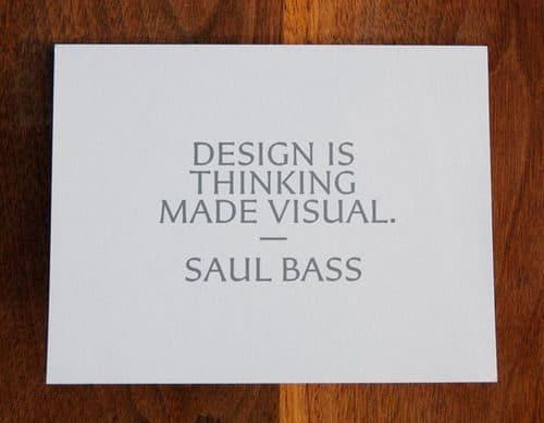 Graphic Design | Saul Bass – Wisdom from Saul kyleread.tumblr.co