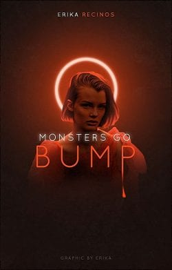 Monsters Go Bump Graphic Poster Design