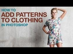 PHLEARN – How to Add Patterns to Clothing in Photoshop