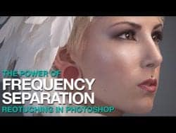 PHLEARN – The Amazing Power of Frequency Separation Retouching in Photoshop