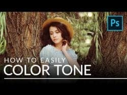 PHLEARN – How to Easily Color Tone Any Photo in Photoshop