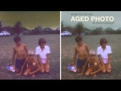 PHLEARN – How to Fix an Aged Photo in Photoshop